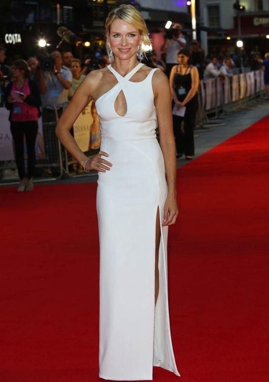 Naomi Watts at the London Premiere of Diana
