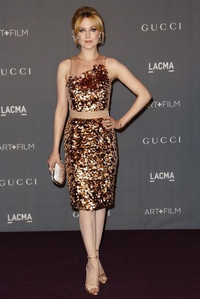 Evan Rachel Wood at the LACMA 2012 Art + Film Gala