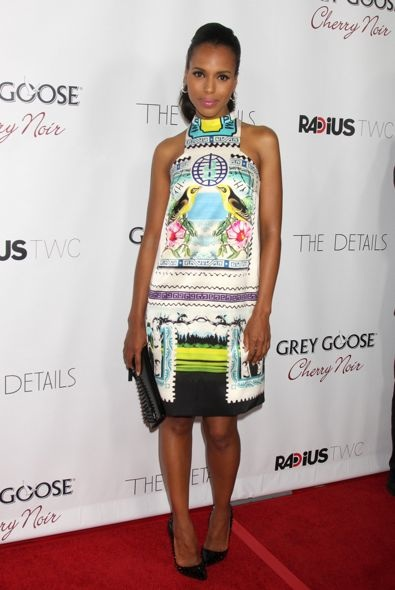 Kerry Washington at the Los Angeles Premiere of The Details