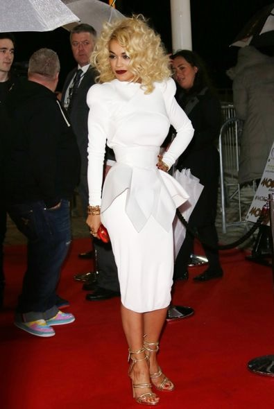Rita Ora at the 2012 MOBO Awards