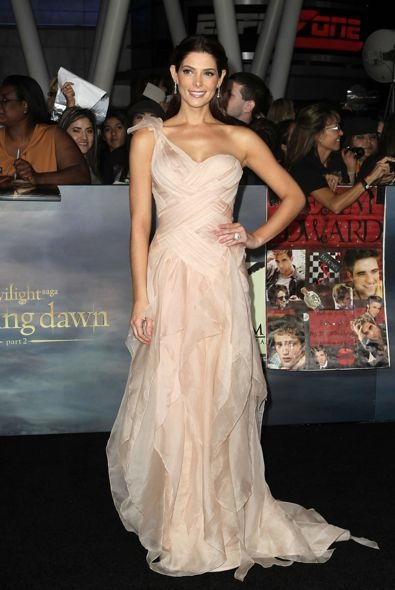 Ashley Greene at the Los Angeles Premiere of The Twilight Saga: Breaking Dawn