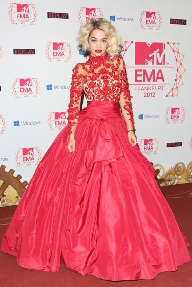 Rita Ora at the 2012 MTV Europe Music Awards