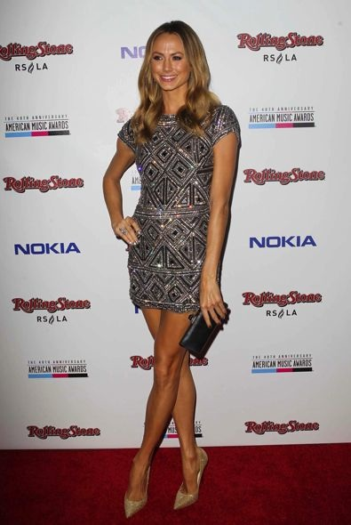 Stacy Keibler at the 2012 American Music Awards