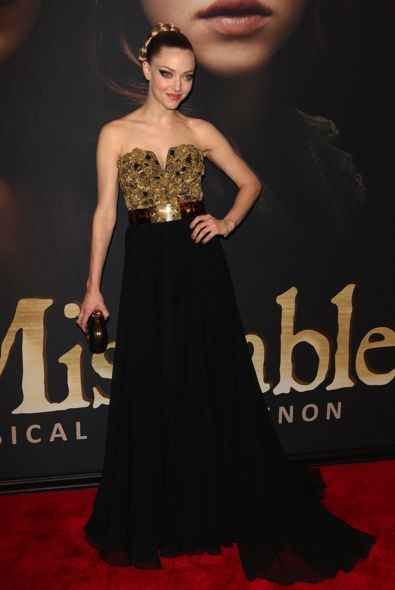 Amanda Seyfried at the New York Premiere of Les Mis