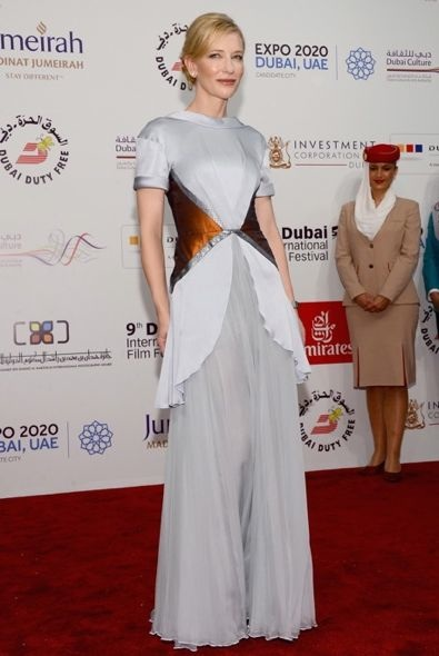 Cate Blanchett at the 2012 Dubai International Film Festival Premiere of Life of Pi