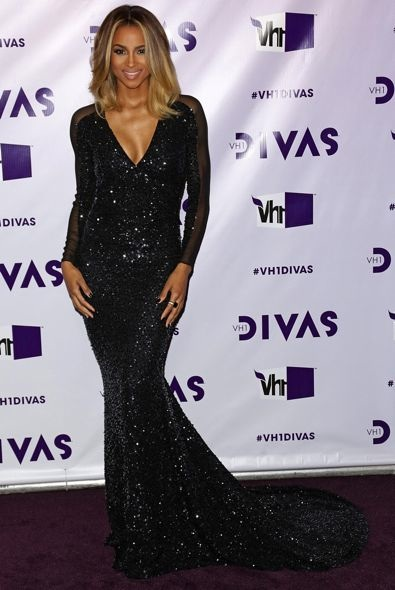 Ciara at the VH1 Divas 2012 Event