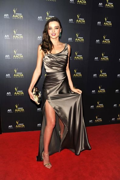 Miranda Kerr at the 2012 Australian Academy of Cinema and Television Arts Awards