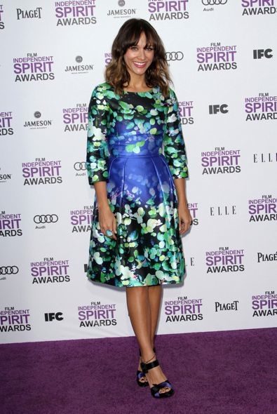 Rashida Jones at the 2012 Film Independent Spirit Awards