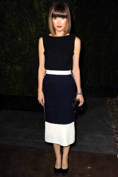 Rose Byrne at the Chanel and Charles Finch Pre-Oscar Dinner