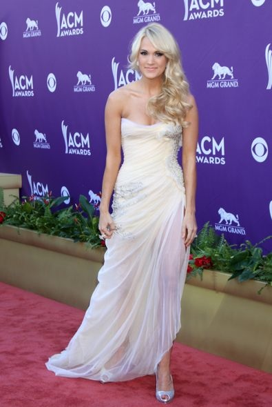 Carrie Underwood at the 2012 Academy Of Country Music Awards