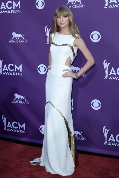 Taylor Swift at the 2012 Academy Of Country Music Awards