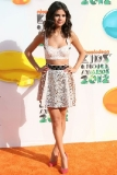 Selena Gomez at the 2012 Nickelodeon Kids' Choice Awards