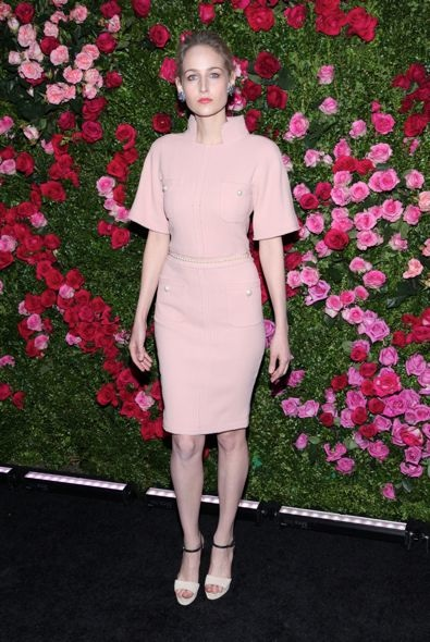 Leelee Sobieski at the 2012 Tribeca Film Festival Chanel Artists Dinner