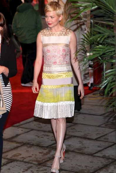 Michelle Williams at the 2012 Tribeca Film Festival Premiere of Take This Waltz