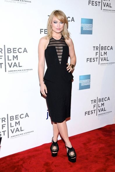 Olivia Wilde at the 2012 Tribeca Film Festival Premiere of Deadfall