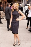 Chloe Moretz at the Late Show with David Letterman