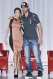 Jennifer Lopez at the Summer Tour Announcement Press Conference with Enrique Iglesias