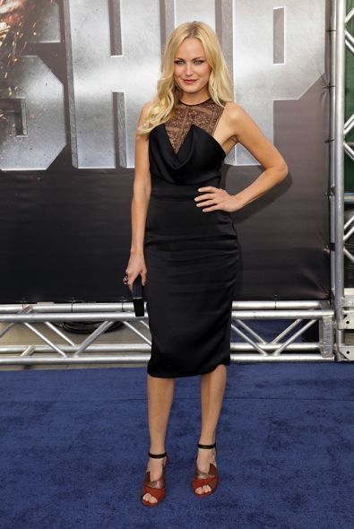 Malin Akerman at the Los Angeles Premiere of Battleship 