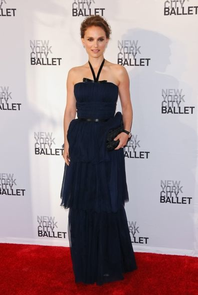 Natalie Portman at the New York City Ballet 2012 Spring Gala