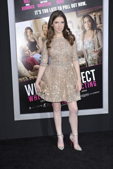 Anna Kendrick at the Los Angeles Premiere of What to Expect When You're Expecting