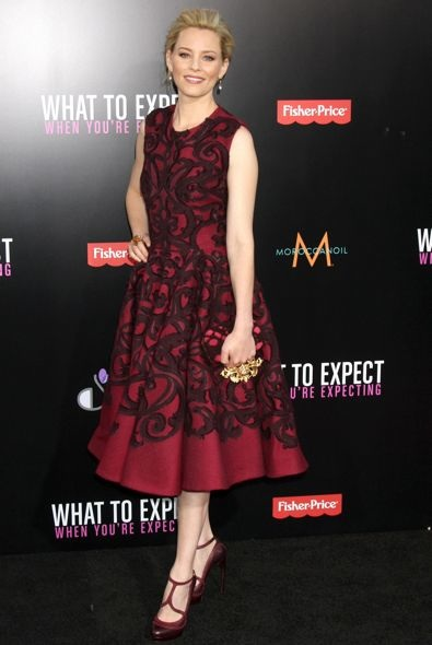 Elizabeth Banks at the Los Angeles Premiere of What to Expect When You're Expecting