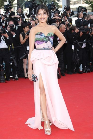Freida Pinto at the 65th Annual Cannes International Film Festival Opening Ceremony  