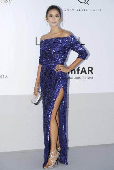 Nina Dobrev at the amfAR Cinema Against AIDS Cannes 2012 Gala