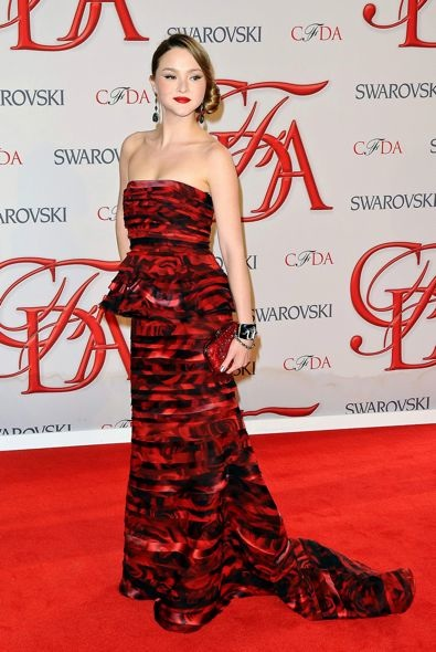 Devon Aoki at the 2012 CFDA Fashion Awards