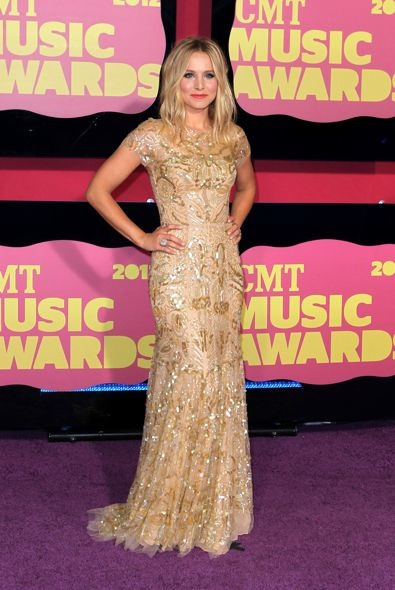Kristen Bell at the 2012 CMT Music Awards