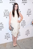 Lily Collins at Chanel's The Little Black Jacket Event
