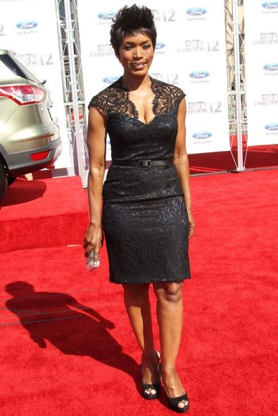 Angela Bassett at the 2012 BET Awards