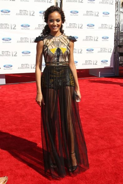 Selita Ebanks at the 2012 BET Awards