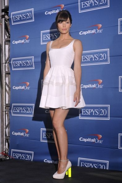 Jessica Biel at the 2012 ESPY Awards