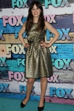 Zooey Deschanel at the Fox All-Star Party