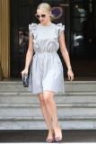 Dianna Agron Out Shopping in Paris