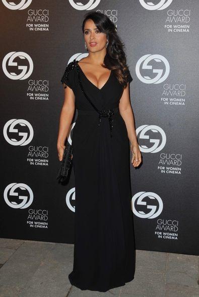 Salma Hayek at the 2012 Gucci Award for Women in Cinema