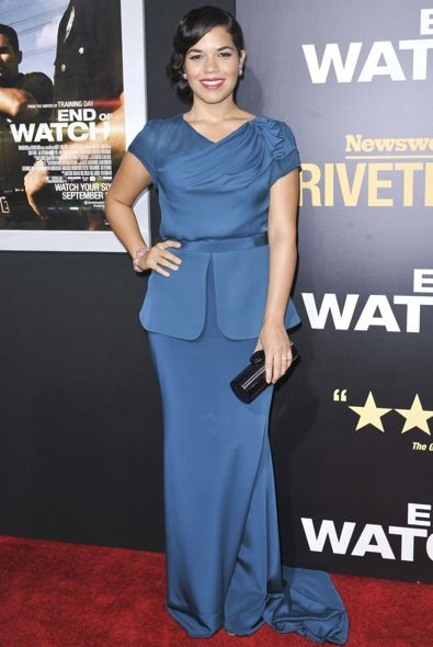 America Ferrera at the Los Angeles Premiere of End of Watch