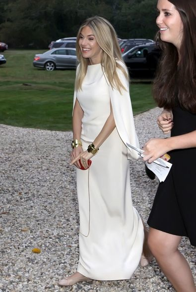Sienna Miller at the 2012 Hamptons International Film Festival Premiere of The Girl