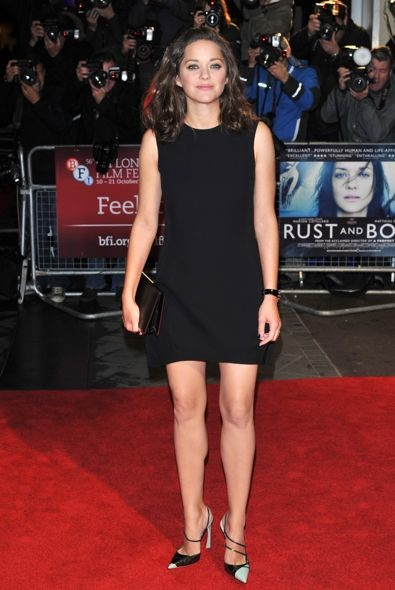 Marion Cotillard at the 56th BFI London Film Festival Premiere of Rust and Bone