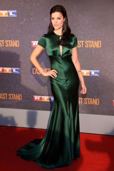Jaimie Alexander at the Cologne Premiere of The Last Stand