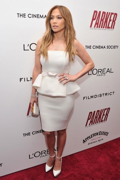 Jennifer Lopez at the New York Screening of Parker