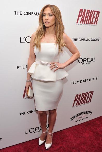 Jennifer Lopez at the New York Screening of Parker