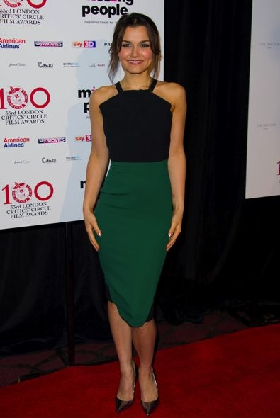 Samantha Barks at the London Critics' Circle Film Awards