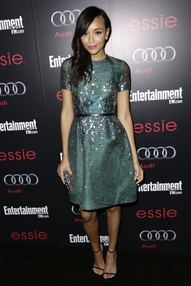 Ashley Madekwe at the Entertainment Weekly Pre-SAG Awards Party