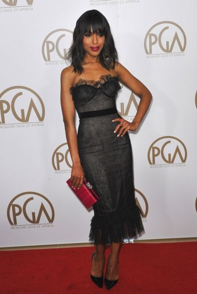 Kerry Washington at the 2013 Producers Guild Awards