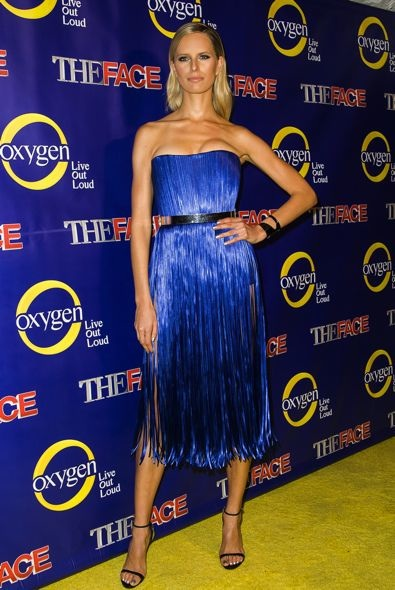 Karolina Kurkova at The Face Premiere Party