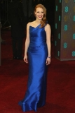 Jessica Chastain at the 2013 BAFTA Awards