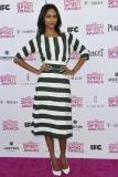 Zoe Saldana at the Film Independent Spirit Awards 2013