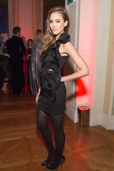 Jessica Alba at the CR Fashion Book Issue 2 Party