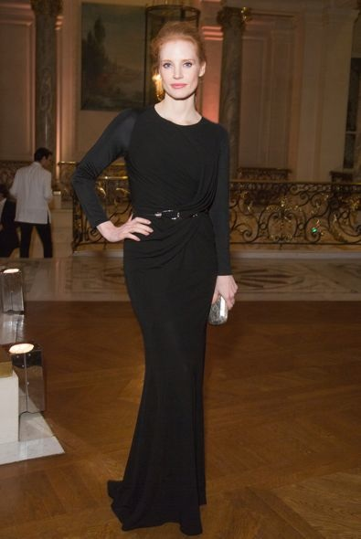 Jessica Chastain at the CR Fashion Book Issue 2 Party